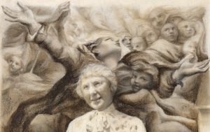 Laura Christensen Assumptions (after Correggio) detail