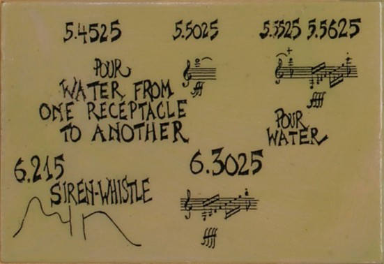 Laura Christensen_Muse (after Water Music by John Cage)